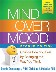 Mind Over Mood Book Cover
